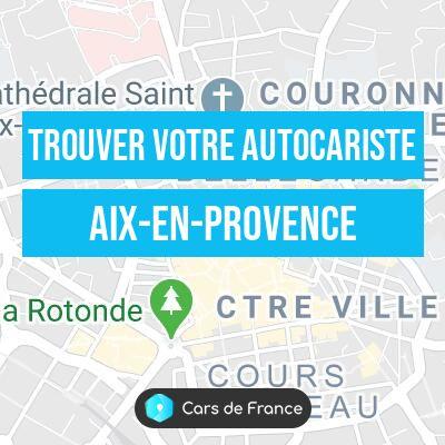 Autocariste à Aix-en-Provence