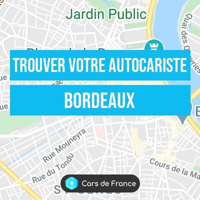 votre autocariste à Bordeaux