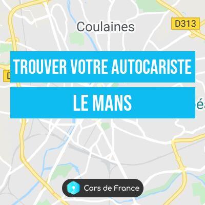 trouver votre autocariste au Mans
