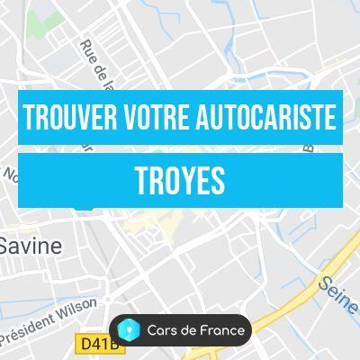 Votre autocariste à Troyes