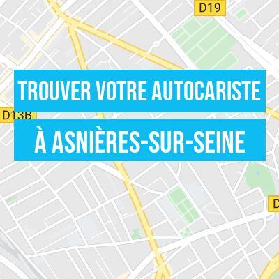 autocariste à Asnières-sur-Seine