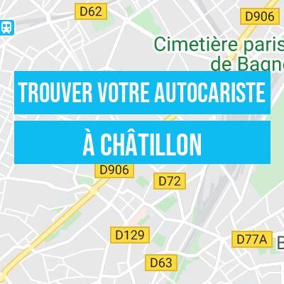 trouvez votre autocariste à Châtillon