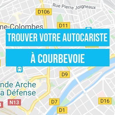 autocariste à Courbevoie