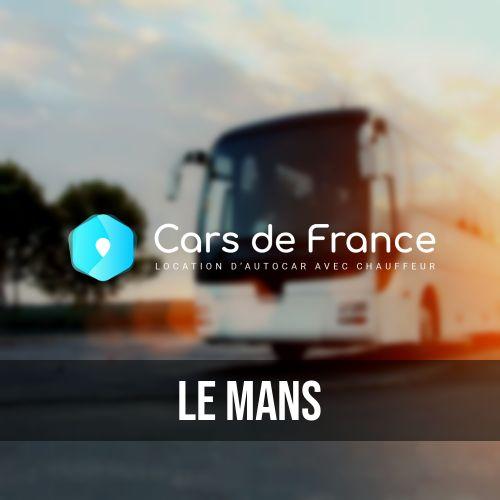louer votre autocar au Mans