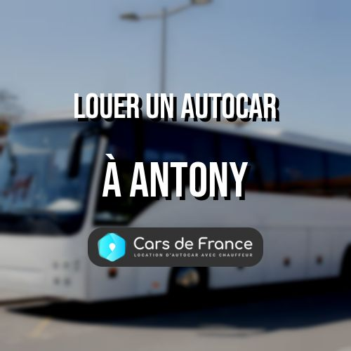 location d'autocar sur Antony
