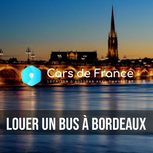 louer un bus à Bordeaux