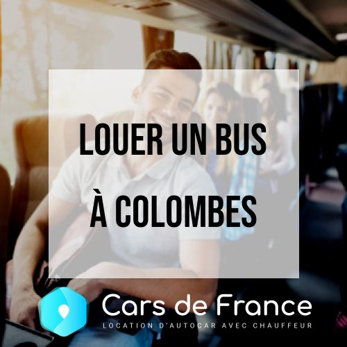 location d'autocar à Colombes