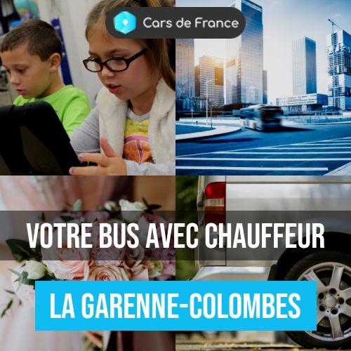 location d'autocar à La Garenne-Colombes