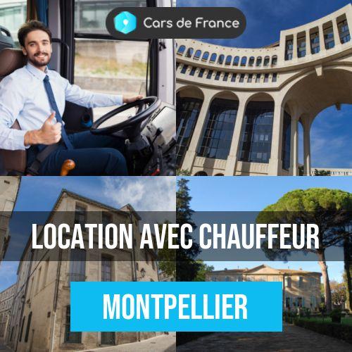 location avec chauffeur à Montpellier
