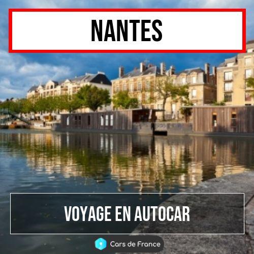 voyage en autocar à Nantes