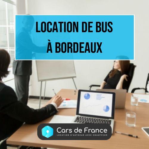 location de bus à Bordeaux