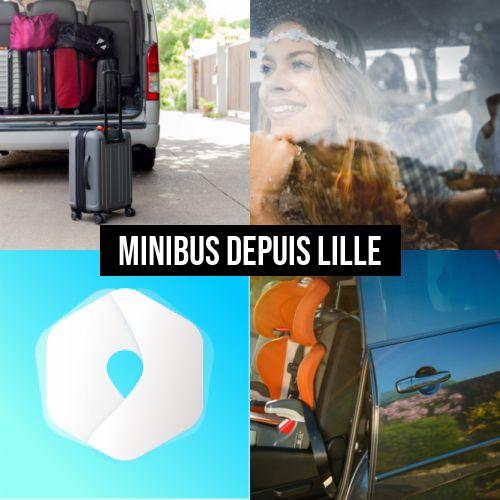 Louez un minibus à Lille