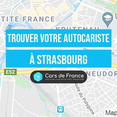 Votre autocariste à Strasbourg