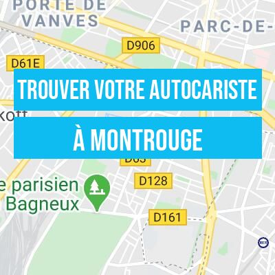 autocariste sur Montrouge dans le 92