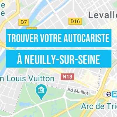 autocariste à Neuilly-sur-Seine