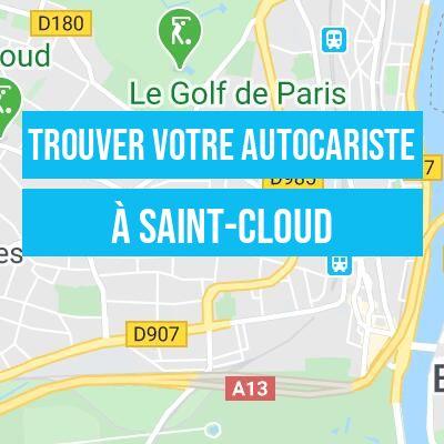 votre autocariste à Saint-Cloud