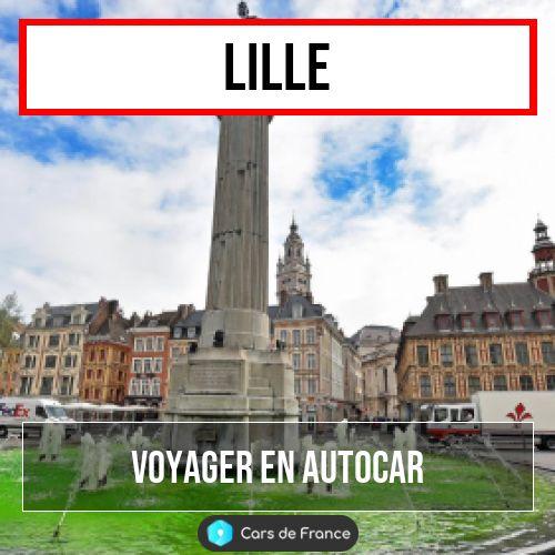 Voyagez en autocar à Lille