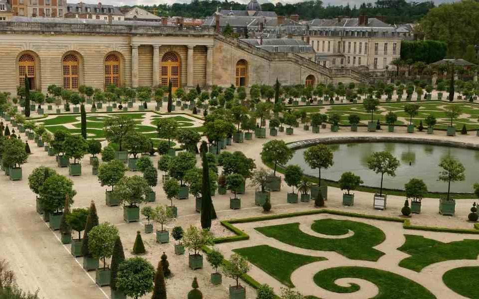 Visite en groupe du château de Versailles