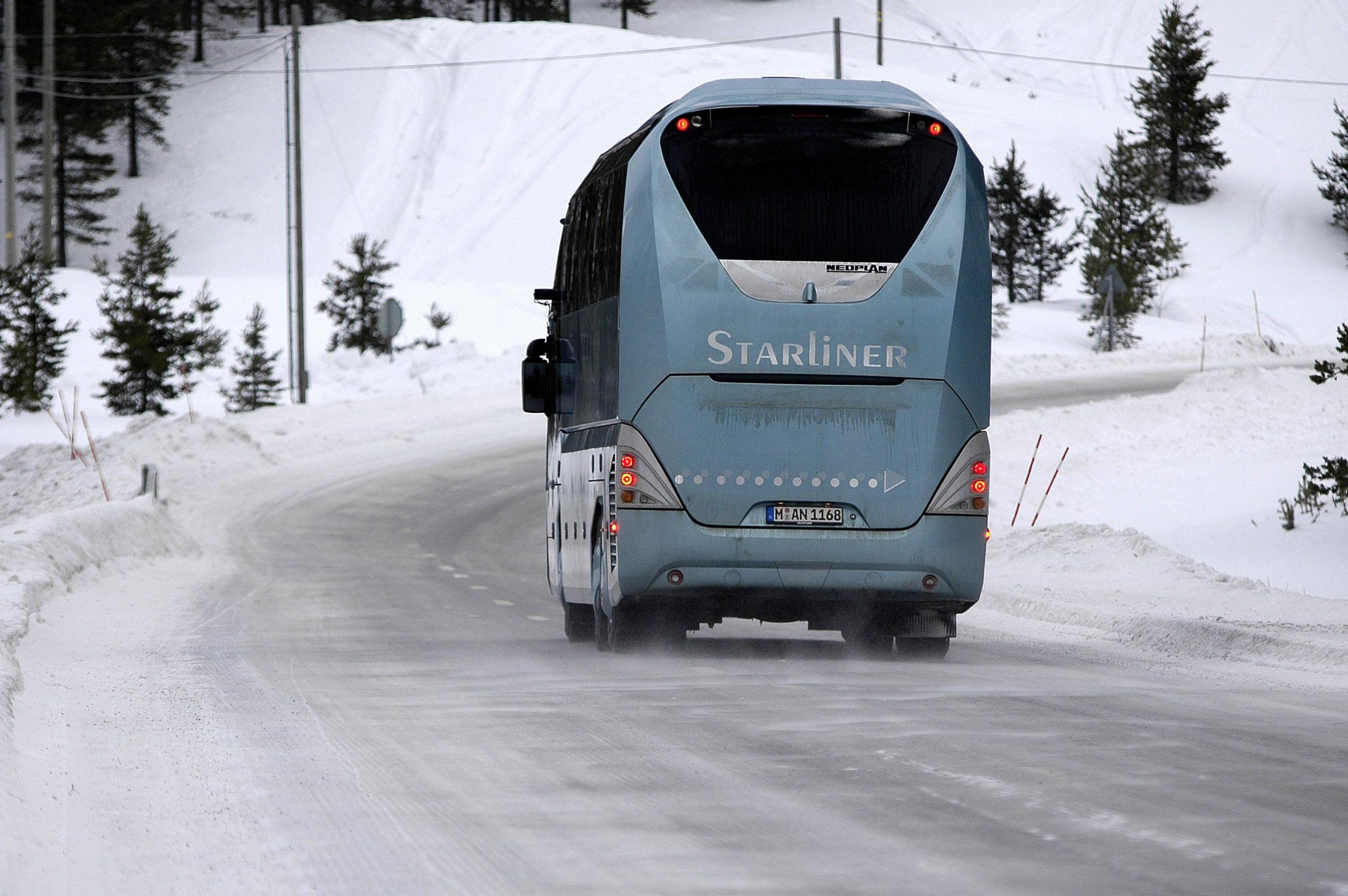 Location autocar pour voyage au ski