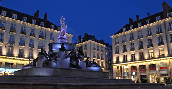 place royale à Nantes